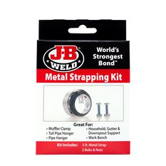 JB WELD METAL STRAPPING KIT 5FT, , scaau_hi-res
