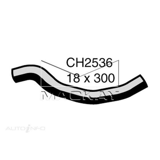 Heater Hose  - NISSAN BLUEBIRD U13 - 2.4L I4  PETROL - Manual & Auto, , scaau_hi-res