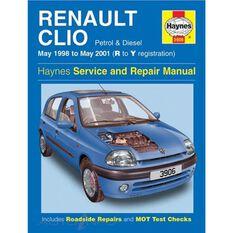 RENAULT CLIO PETROL & DIESEL (1998 -2001), , scaau_hi-res