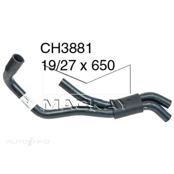 Heater Hose SAAB 9-5   2.0 Litre 4Cyl Turbo *, , scaau_hi-res