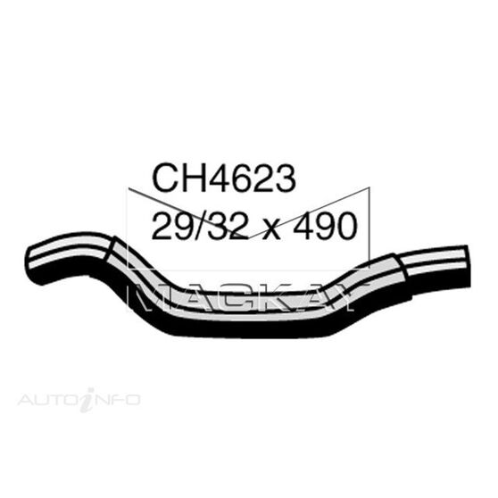 Radiator Upper Hose  - MAZDA CX-7 ER - 2.3L I4 Turbo PETROL - Manual & Auto, , scaau_hi-res