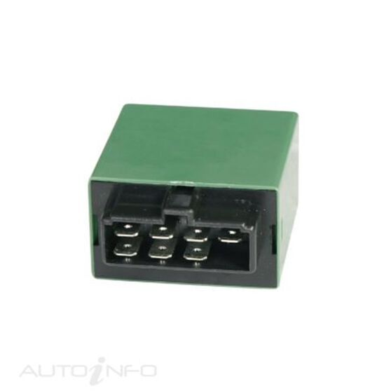 FLASHER 12V 7PIN OUTAGE BOXED, , scaau_hi-res
