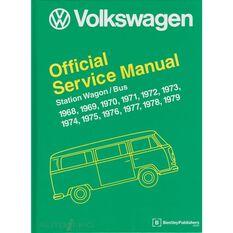 SERVMAN  VW STATION WAGON/ BUS 1968-1979   9780837616353