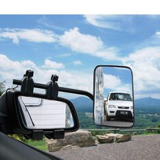 TOWING MIRROR CLIP ON   FLAT GLASS CAMEC