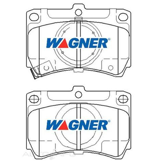 Wagner Brake pad [ Ford & Mazda 1985-1994 F ], , scaau_hi-res