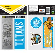 TITANS ITAG BUMPER DECALS - SET OF 5