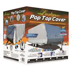 COVER POP-TOP 14FT W/SIDE & REAR DOOR