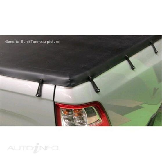 NAVARA DUAL CAB 4WD WITHOUT SPORTS BAR, HEADBOARD BUNJI UTE TONNEAU COVER, , scaau_hi-res