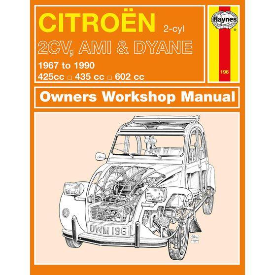 CITRON 2CV, AMI & DYANE (1967 - 1990), , scaau_hi-res