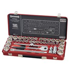 "SOCKET SET 1/2"" DRIVE MET/AF 40PC, , scaau_hi-res"