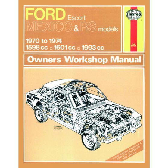 FORD ESCORT MK I MEXICO, RS 1600 & RS 2000 (1970 - 1974), , scaau_hi-res