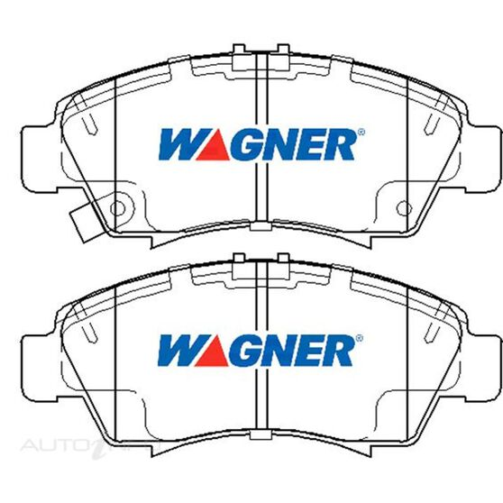 Wagner Brake pad [ Honda & Isuzu 1991-2014 F ], , scaau_hi-res