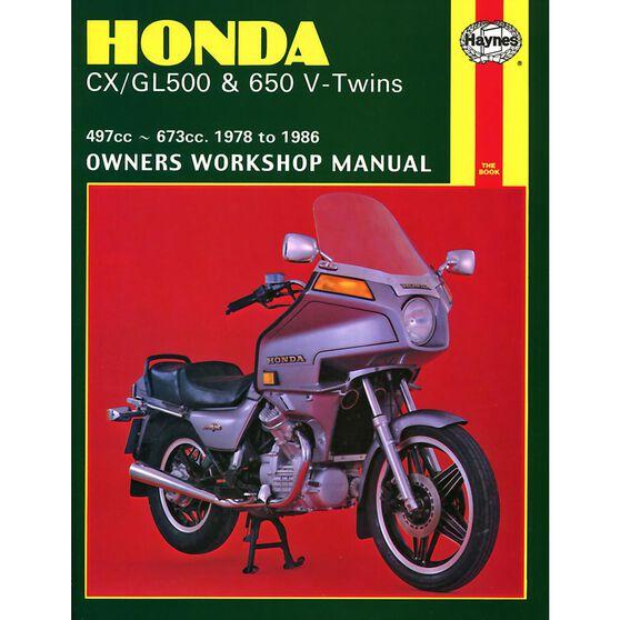 HONDA CX/GL500 & 650 V-TWINS 1978 - 1986, , scaau_hi-res
