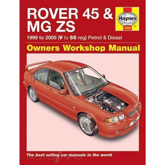 ROVER 45 / MG ZS PETROL & DIESEL (1999 - 2005), , scaau_hi-res