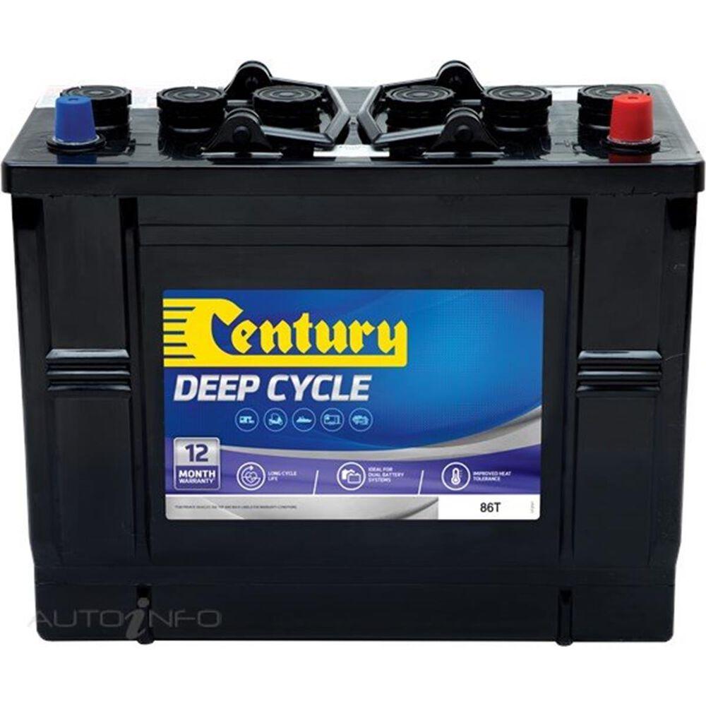 century deep cycle battery 86t 85ah 12v 141105. Black Bedroom Furniture Sets. Home Design Ideas