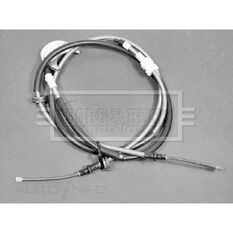 FORD FIESTA 84-89 BRAKE CABLE - REAR, , scaau_hi-res