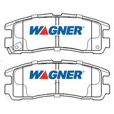 Wagner Brake pad [ Dodge/Mitsubishi & Proton 1991-2003 R ]