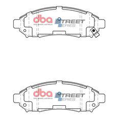 DBA SS STREET SERIES BRAKE PADS [ Nissan Navara & Pathfinder 2005-2014 F ], , scaau_hi-res