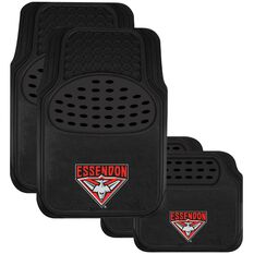 AFL CAR MATS SET OF 4 ESSENDON, , scaau_hi-res