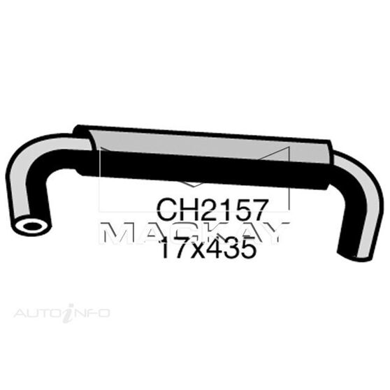 Heater Hose  - TOYOTA COROLLA AE101R - 1.6L I4  PETROL - Manual & Auto, , scaau_hi-res