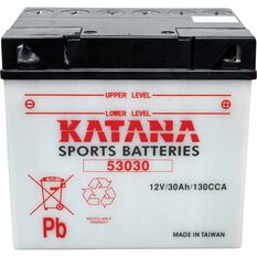 KATANA MOTORCYCLE BATTERY - 53030, , scaau_hi-res