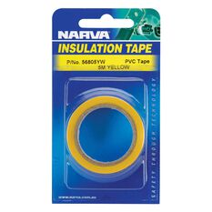 PVC TAPE 5M YELLOW IN BLISTER