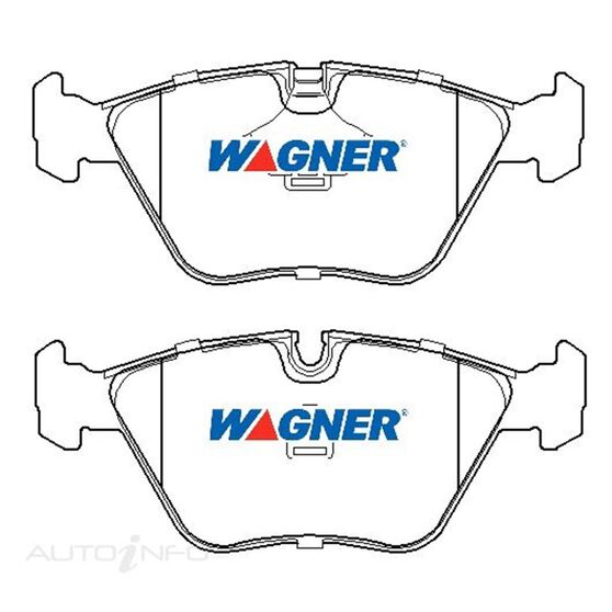Wagner Brake pad [ BMW 1988-2009 F ], , scaau_hi-res