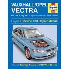 VAUXHALL/OPEL VECTRA PETROL & DIESEL (1999 - 2002)