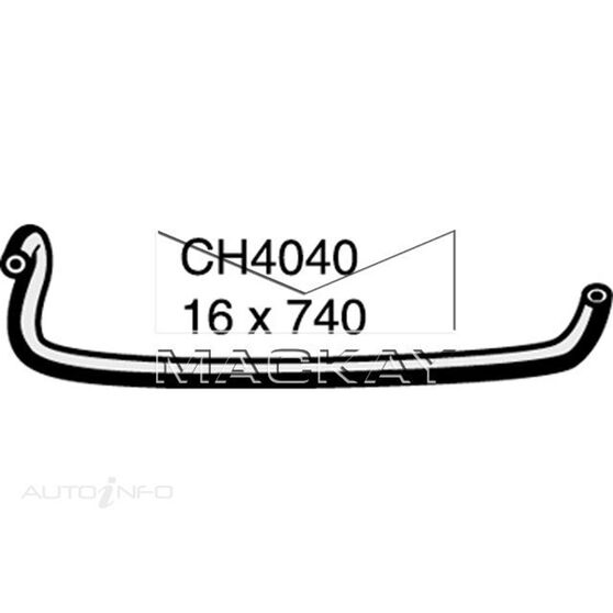 Radiator Hose Misc  - HOLDEN RODEO TF - 2.5L I4  DIESEL - Manual & Auto, , scaau_hi-res