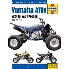 YAMAHA YFZ450 AND YFZ450R ATVS 2004 - 2015, , scaau_hi-res