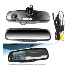 """4.3"""" OEM REPLACEMENT HD LCD MIRROR REVERSING CAMERA WITH BUILT IN DVR"""