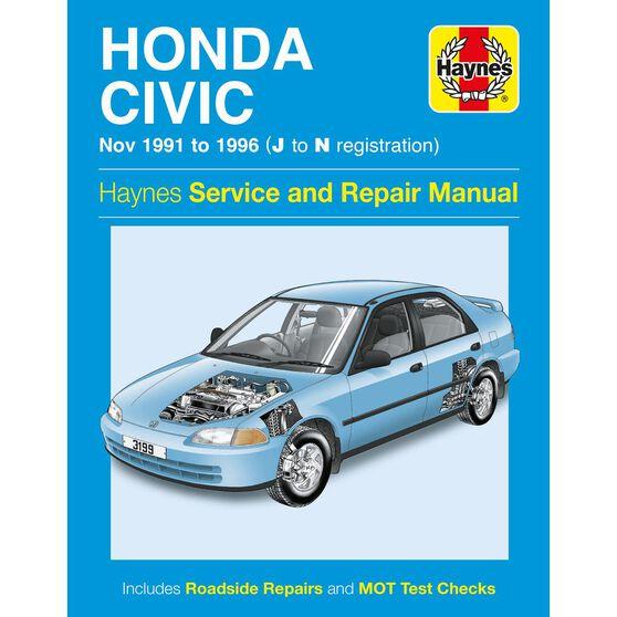 HONDA CIVIC (1991 - 1996), , scaau_hi-res