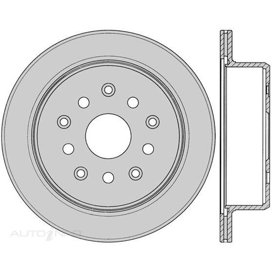 Protex Brake Rotor - Single, DR586