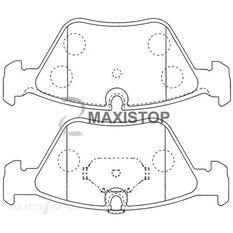 MAXISTOP DBP (F) BMW 320, 330 SERIES (E46), X3 (E83)
