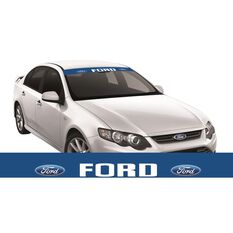 FORD ITAG SUN VISOR (WHITE FORD BLOCK ON BLUE), , scaau_hi-res