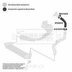 FIAT DOBLO 1.3MJTD 05- HEAT EXCHANGER HOSE, , scaau_hi-res