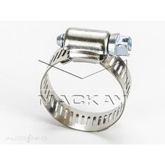Hose Clamp 18-32mm Perforated Band, Part Stainless