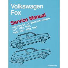 SERVMAN  VW FOX (INC GL GL SPORT &WAGON) 1987-1993 9780837603636