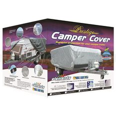 COVER CAMPER TRAILER 8 FT