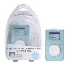 PU LEATHER CASE WITH CLEAR CLIP BLUE -  SUIT IPOD MINI, , scaau_hi-res