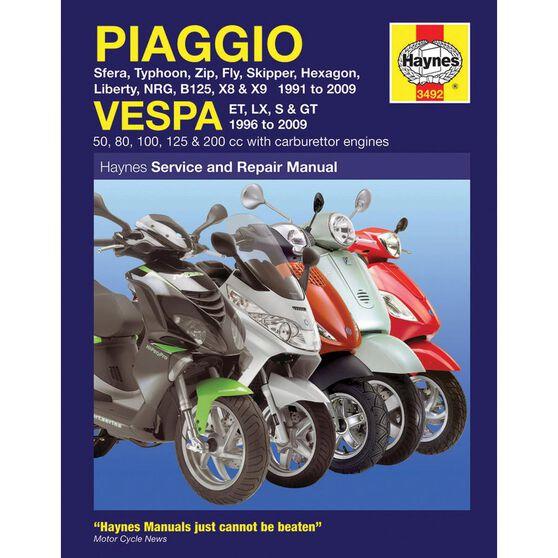 PIAGGIO (VESPA) SCOOTERS 1991 - 2009, , scaau_hi-res