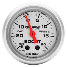 """ULTRA-LITE 2-1/16"""" BOOST/VAC 30 IN/HG - 20 PSI, MECH, 10FT"""