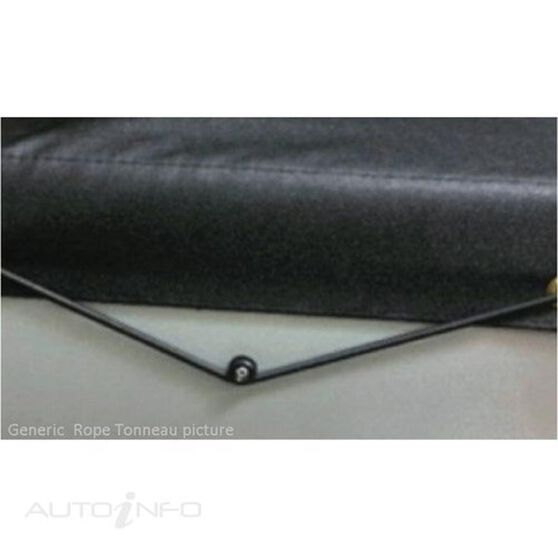 HILUX SINGLE CAB WITHOUT SPORTS BAR, HEADBOARD ROPE UTE TONNEAU COVER, , scaau_hi-res