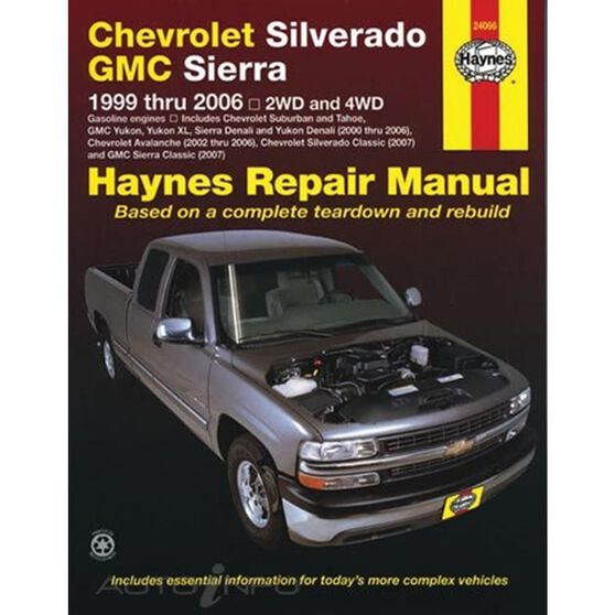 CHEVROLET FULL-SIZE PICK-UP, '99-'07, , scaau_hi-res