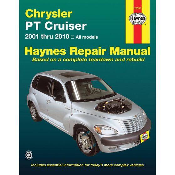 CHRYSLER PT CRUISER HAYNES REPAIR MANUAL FOR ALL MODELS 2001 THRU 2010, , scaau_hi-res