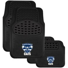 AFL CAR MATS SET OF 4 GEELONG