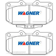Wagner Brake pad [ Nissan & Subaru 1989-2004 F ], , scaau_hi-res
