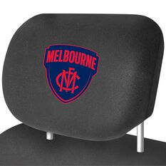 AFL CAR HEAD REST COVER - PAIR DEMONS, , scaau_hi-res