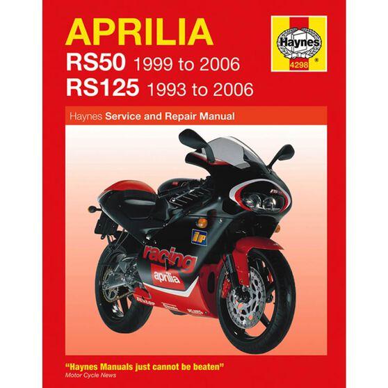 APRILIA RS50 1999 - 2006 & RS125 1993 - 2006, , scaau_hi-res