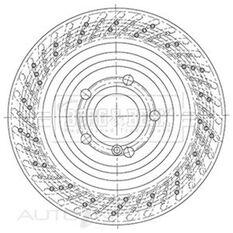 MERCEDES SL(R231)+SPORTS 2/12- BRAKE DISC PAIR, , scaau_hi-res
